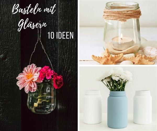 Gläser-Upcycling