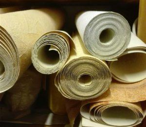 basteln mit tapeten upcycling basteln. Black Bedroom Furniture Sets. Home Design Ideas